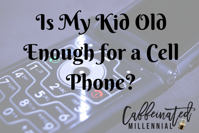 Is My Kid Old Enough for a Cell Phone?