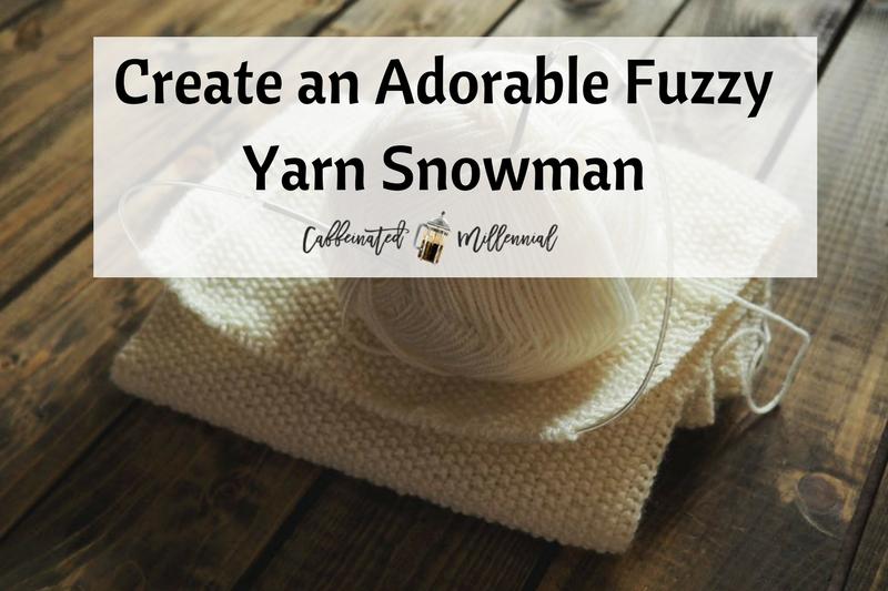 Create an Adorable Fuzzy Yarn Snowman