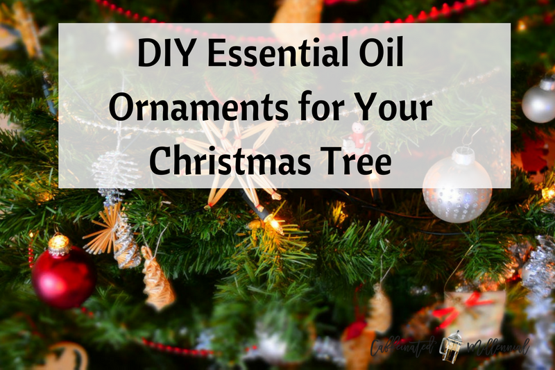 DIY Essential Oil Ornaments for Your Christmas Tree