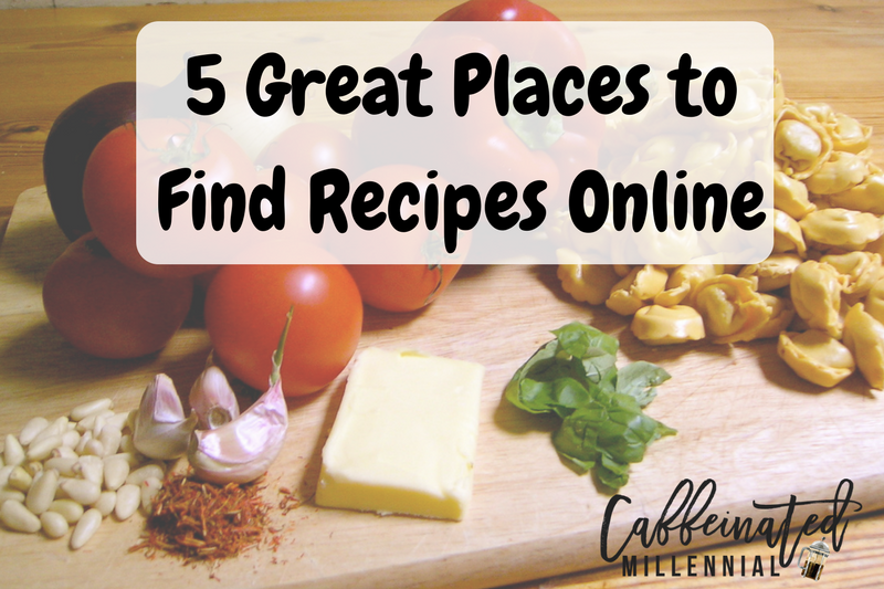 5 Great Places to Find Recipes Online
