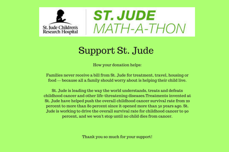 Support St. Jude Children's Research Hospital