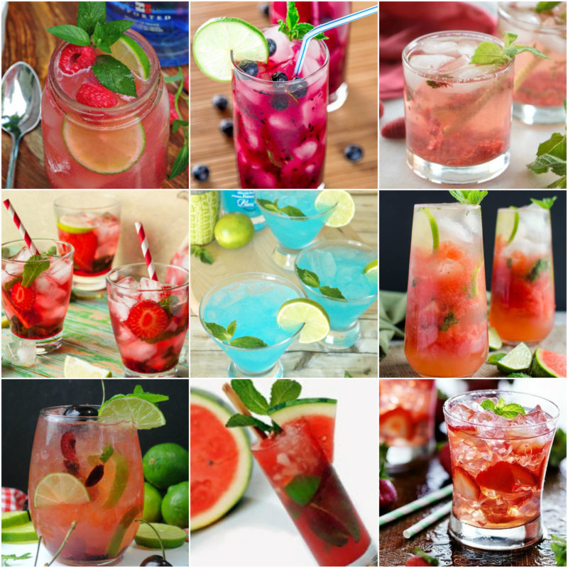 17 Mojito Recipes Roundup