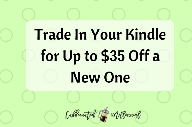 Trade In Your Kindle for Up to $35 Off a New One: Amazon Deal