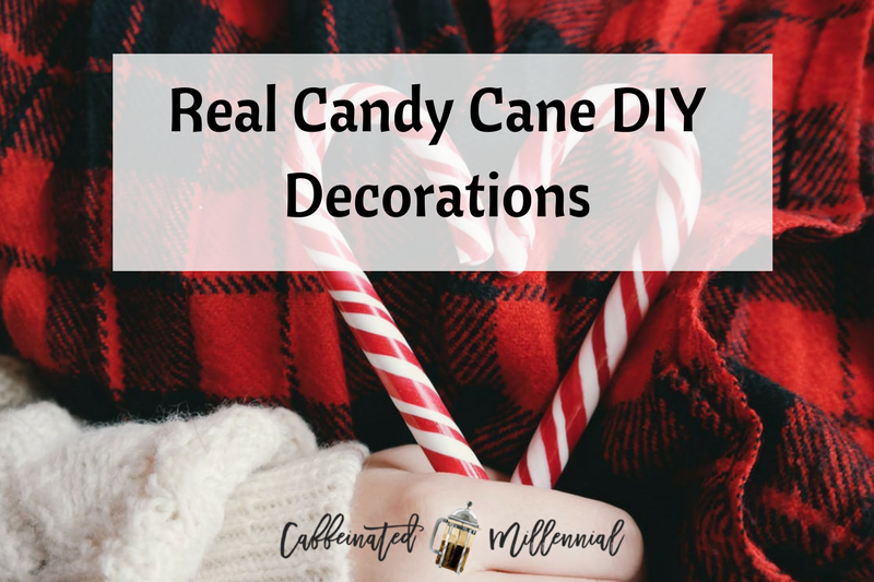 Real Candy Cane DIY Decorations