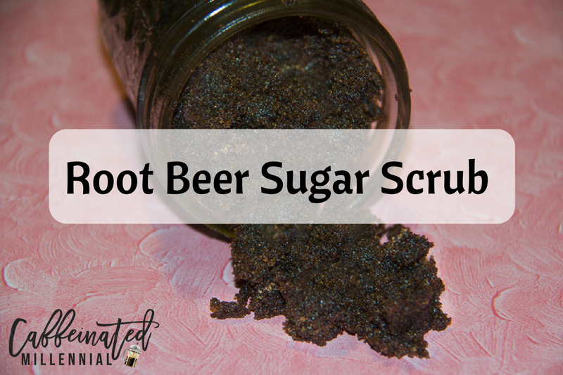 Root Beer Sugar Scrub