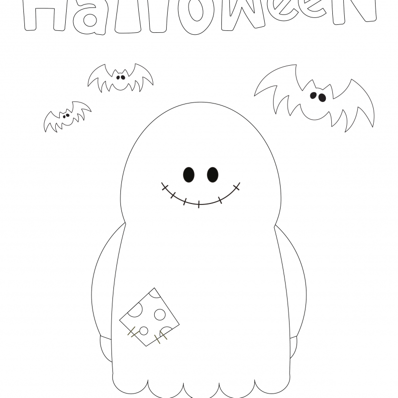 Halloween Coloring Sheets & Pumpkin Carving Templates
